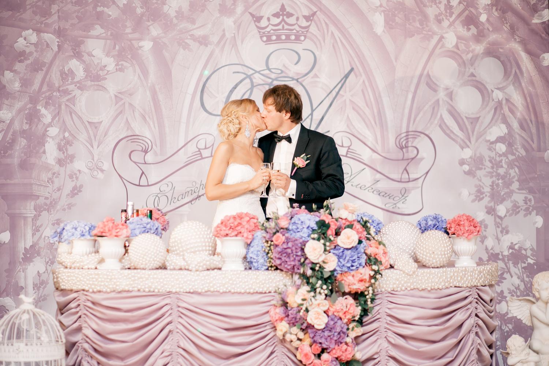Баннер молодых на свадьбу